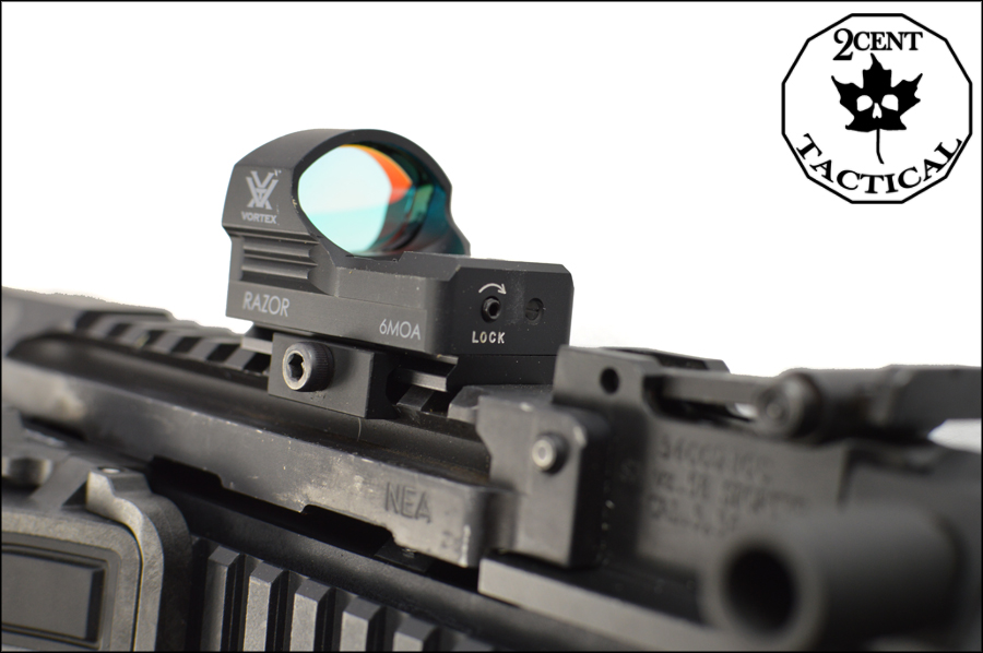 Vortex Razor Red Dot 6 Moa 2 Cent Tactical