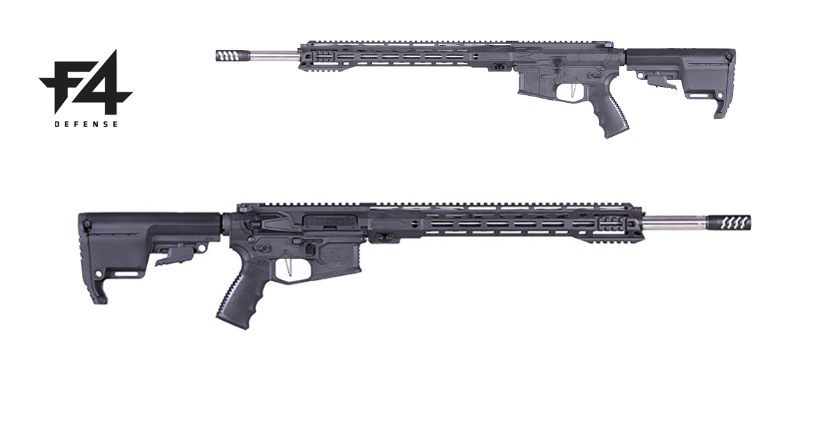 The F4-15 EBR (Enhanced Battle Rifle) from F4 Defense is now available in a .224 Valkyrie version.