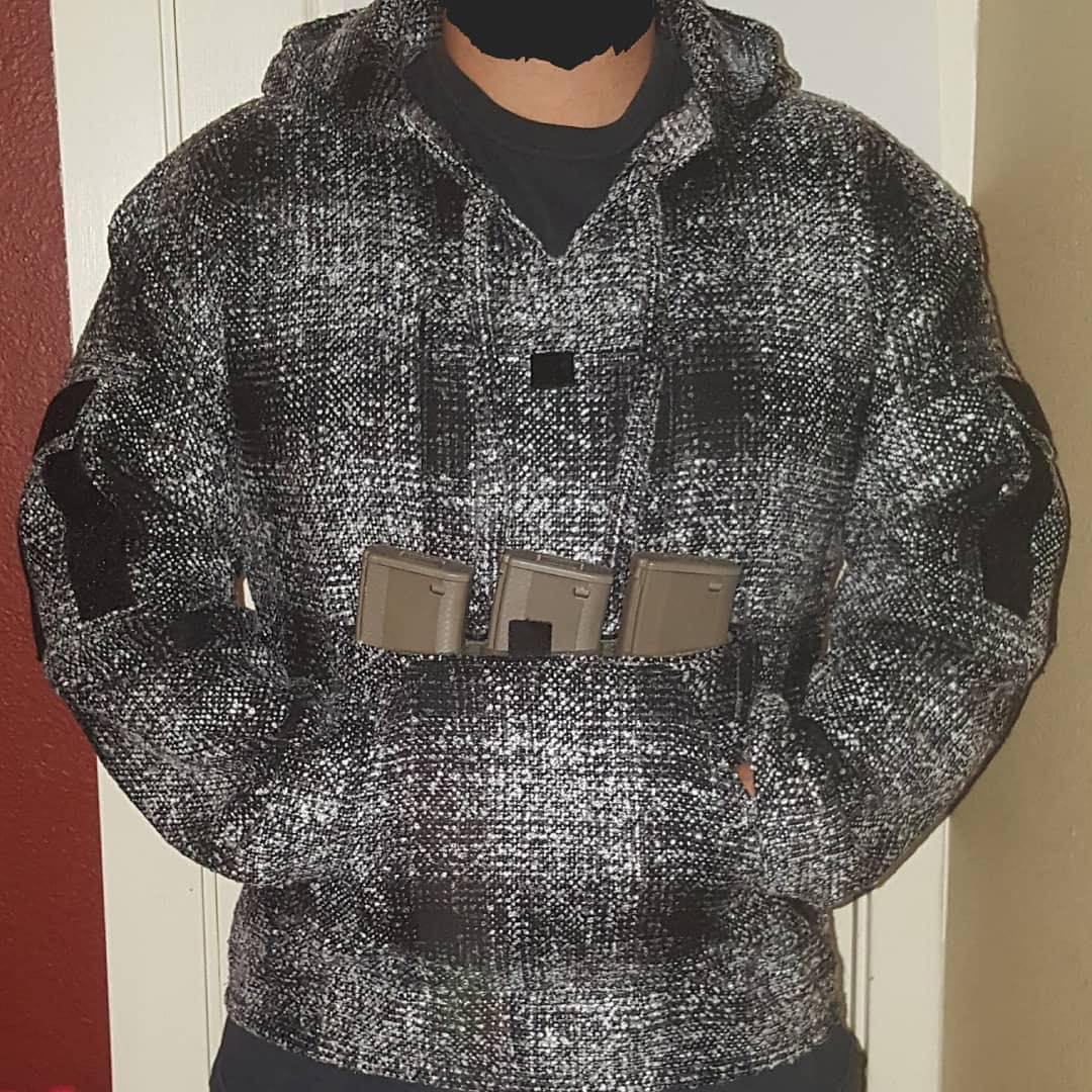The Cali Combat Hoodie from All Skill No Luck
