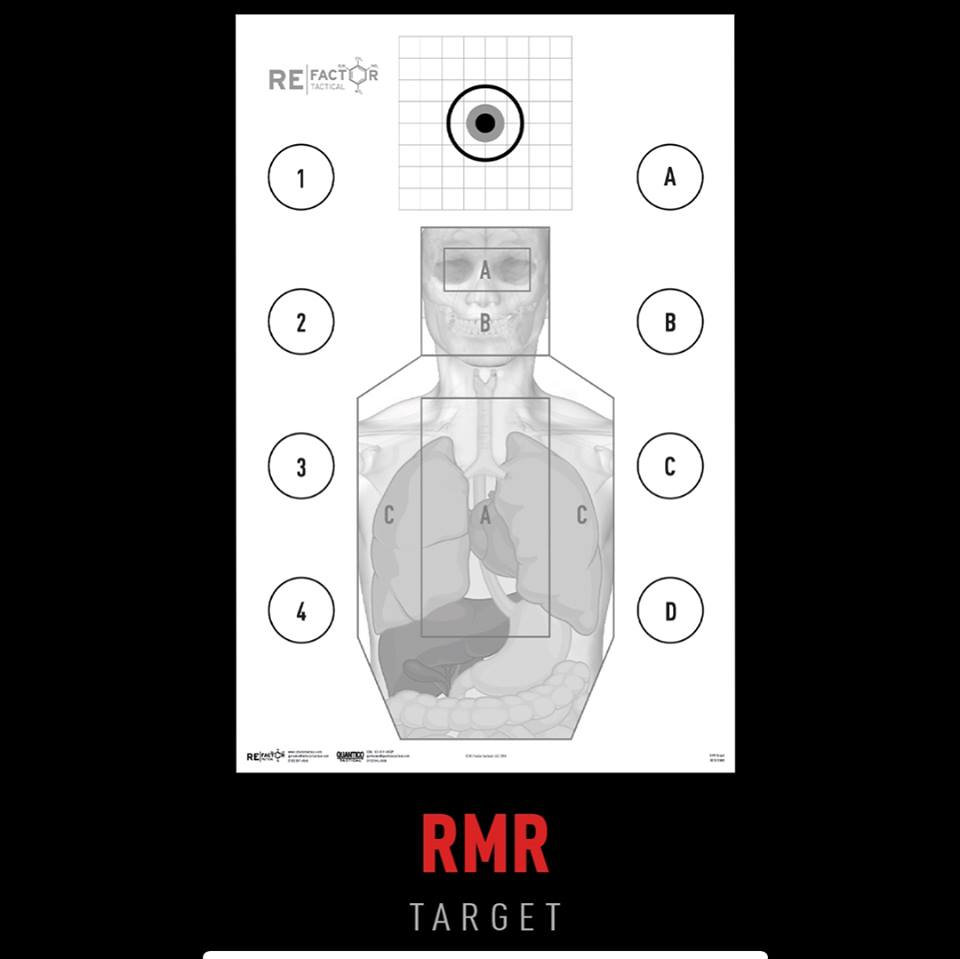 RE Factor Tactical shooting targets 1 - Menace to Society collection of paper shooting targets