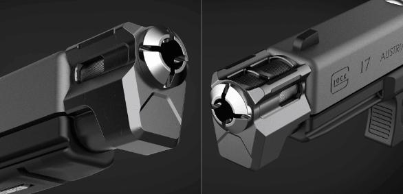 Image of Tyrant Designs CNC Glock Compensator