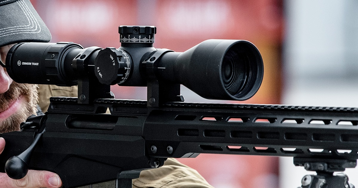 Another Crimson Trace riflescope.