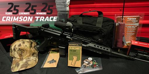 Crimson Trace laser sights giveaway